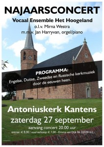 Concert 27 september